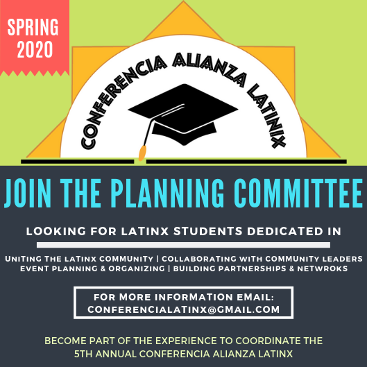 Join The Planning Committee for 2019-2020